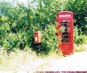 Phone box Post box