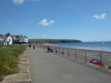 The Promenade at Aberdaron