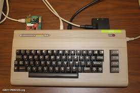 A C64 connected to the internet
